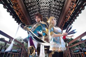 Dynasty Warriors 8 - Jin by maocosplay