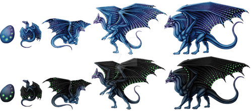More Precognition Dragons by LadyFromEast