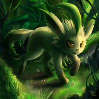 Leafeon by Cotton-Monster