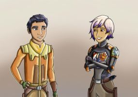 Ezra and Sabine by Roxi-ki