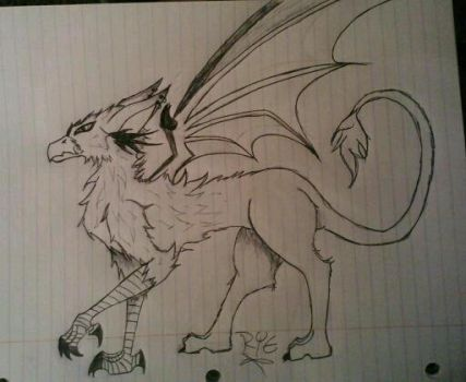 first griffin w.i.p by miss-alucard-666