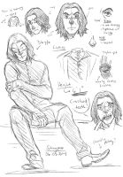 Some Kind Of Snape Study by staypee