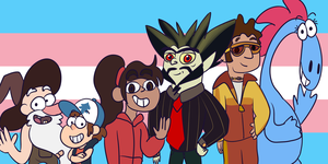 Trans Pride: Disney xd by IWantToBrowsefuckyou