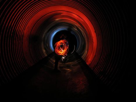 Tunnel Light by roothragon