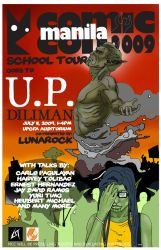 Road to MCC: UP School Tour by manilacomic-con