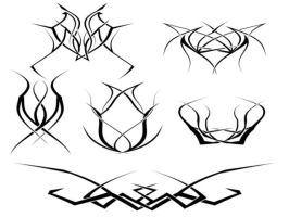 Tattoo brushes by exitusss
