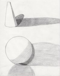 cone and sphere by sweetaj6