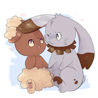 bunnies by KitKat-s