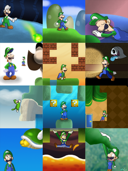 Year of Luigi Tribute by zelc-face