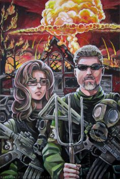 American Apocalyptic by bezzalair