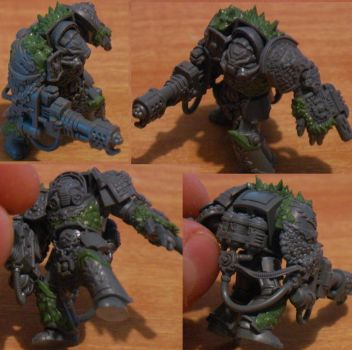 Deathwatch Terminator conversion by The-Build