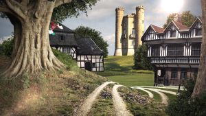 Battleon - Matte Painting by AQWmim