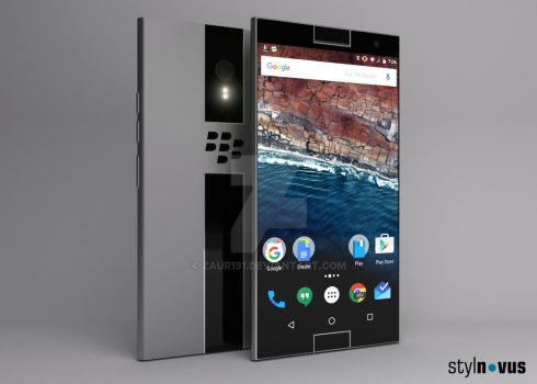 Blackberry Nova Concept Desing by zaur191