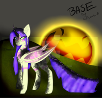 New bat pony corrupted version by Darumemay