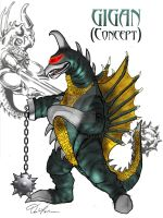 Gigan Concept by Fourgreen