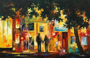 Homecoming by Leonid Afremov by Leonidafremov
