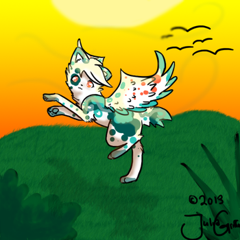 I BELIEVE I CAN FLY by Griffin-Kitten