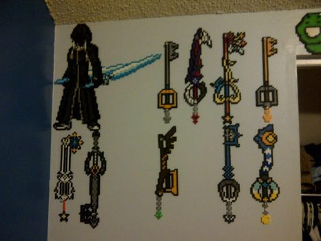 Kingdom Hearts Wall by LingeringSentiments