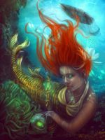 Sea witch by LaDeaBendata