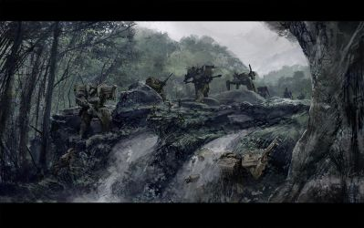 Front Mission: Hunting Party by ukitakumuki