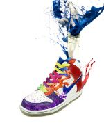 Nike Dunk High by leobattistella