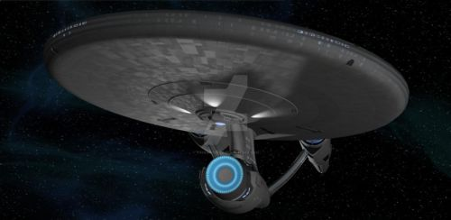 USS Enterprise render1 by trekmodeler
