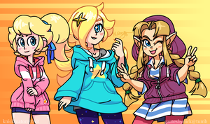 Princess Hoodies by The-Knick