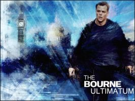 The Bourne Ultimatum Desktop by TrentPraeger
