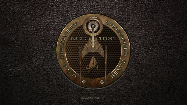 Star Trek USS Discovery NCC 1031 Patch by gazomg