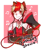 [g/collab] - HBD STEVIE !! by SACCHll