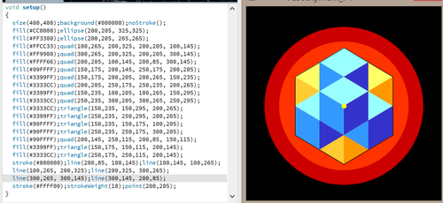 Drawing Art with 'Processing' Code by MarkyMarktastic