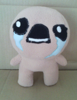 [The Binding of Isaac] Isaac plush by NekoRushi