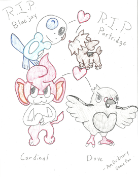 Some Marriland Pokemon Black Wedlocke Fanart! by AnOrdinarySonicFan
