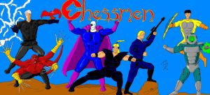 Chessmen full color by GalaxyZento