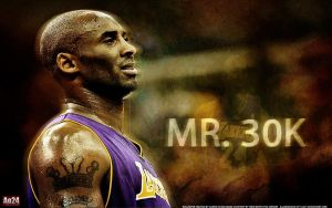 Kobe Bryant- 30K by pllay1