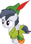 Rumble as Peter Pan by CloudyGlow