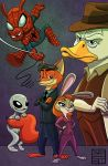 X Files Marvel Disney Mashup by IADM