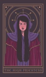 The High Priestess by NickTeo