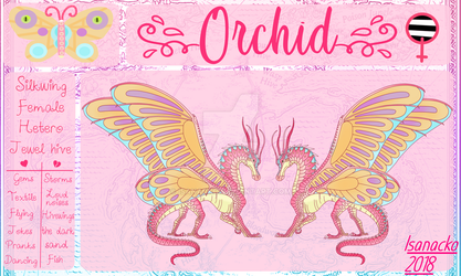 Orchid||Silkwing||WoF by Isanacko