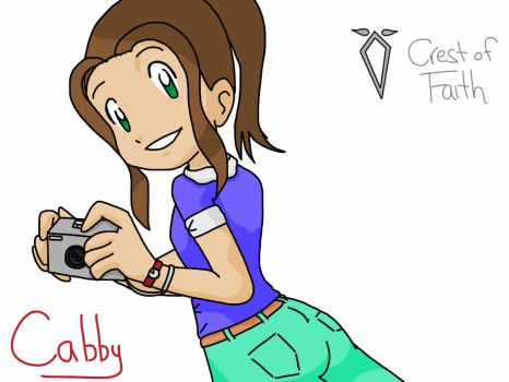 Digi-Destined Cabby: Say cheese!  by whitefire33