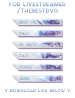 [Twitch Headers] TheBestDvG // LEAGUE OF LEGENDS by AugisHD