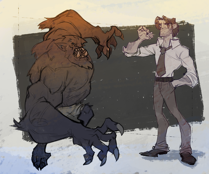 Bigby doodle by rzanchetin