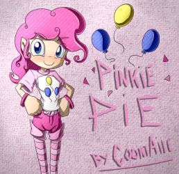 Pinkie Pie - human version by CountAile
