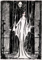 Bride of Dracula by herbertzohl