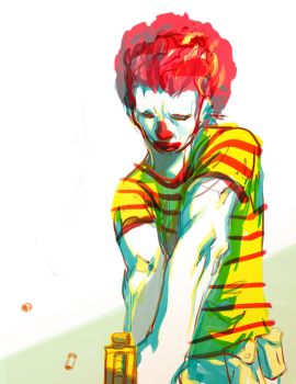 ronald mcdonald by tobiee