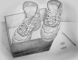Shoes Still Life by mycort
