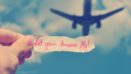 Let your dreams fly by Wnison