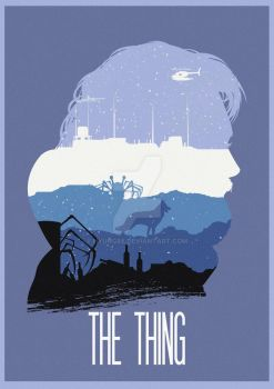 Many Faces of Cinema: The Thing by Hyung86