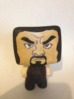 Roman Reigns custom vynil figure by CaptainMarvelous