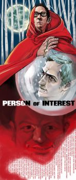 Person of Interest-AU by monster3x